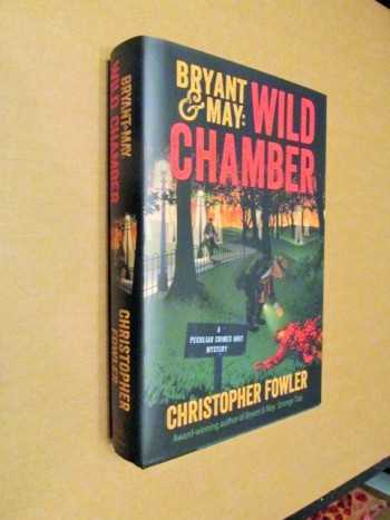 Image for Bryant and May Wild Chamber Signed Unread  First Edition Hardback in Dustjacket