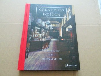 Image for Great Pubs of London Foreword By Sir Ian Mckellen First Edition Hardback