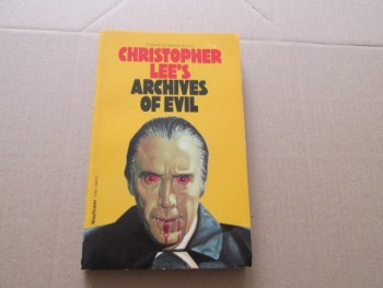 Image for Christopher Lee's Archives of Evil