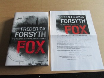 Image for The Fox First Edition Hardback in Dustjacket  Plus Publicity Letter