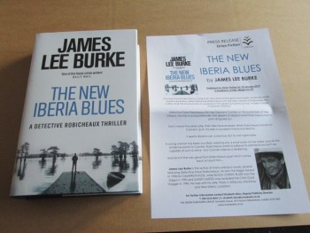 Image for The New Iberia Blues an Unread First Edition Hardback in Dustjacket Plus Publicty Letter