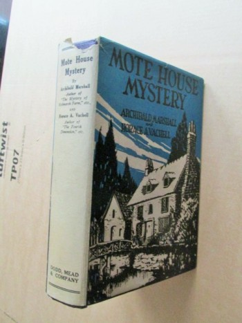 Image for Mote House Mystery 1926 First Edition Hardback in Dustjacket