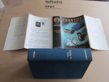 Image for Cyanide 1940 First Edition Hardback in Dustjacket