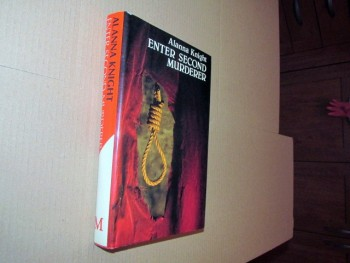 Image for Enter Second Murderer First Edition Hardback in Dustjacket