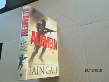 Image for Alamein First Edition Hardback in Dustjacket