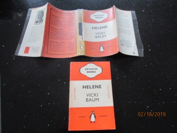 Image for Helene 1938 Penguin First Edition in Dustjacket