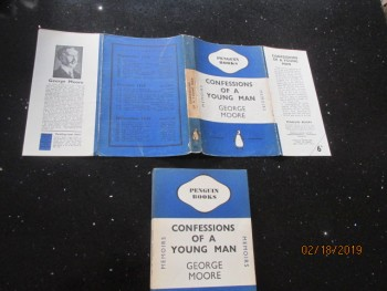 Image for Confessions of a Young Man 1939 Penguin Second Impression in Dustjacket
