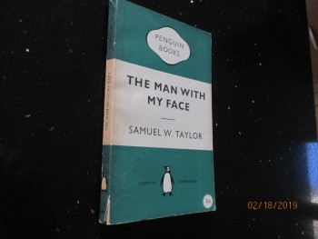 Image for The Man with My Face Penguin First Edition