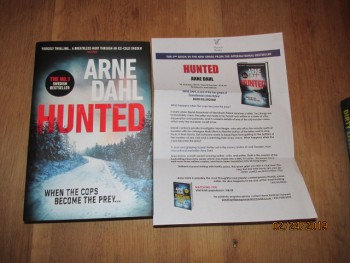 Image for Hunted Unread Fine First Edition Hardback in Dustjacket Plus publishers advance publicity letter