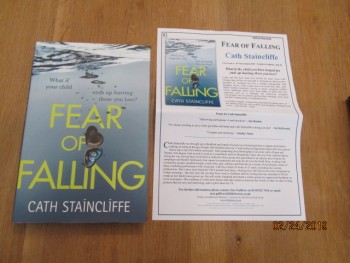 Image for Fear of Falling Unread First Edition Hardback in Dustjacket Plus Publicity Letter