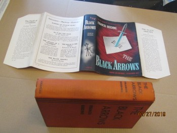 Image for The Black Arrows Signed first Edition Hardback in Dustjacket