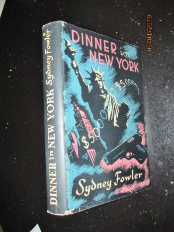 Image for Dinner in New York First Edition Hardback in Dustjacket