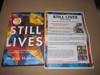 Image for Still Lives First Edition Hardback in Dustjacket Plus Publicity Letter