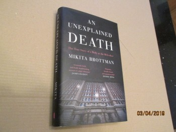Image for An Unexplained Death the True Story of a Body at the Belvedere Unread First Edition Hardback in Dustjacket