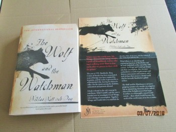 Image for The Wolf and the Watchman Advance Proof Copy Plus Publicity Letter
