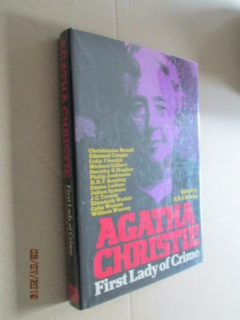 Image for Agatha Christie: First Lady of Crime First Edition Hardback in Dustjacket
