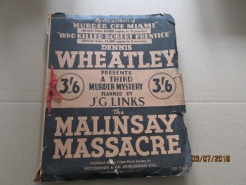 Image for The Mallinsay Massacre First Edition Dossier
