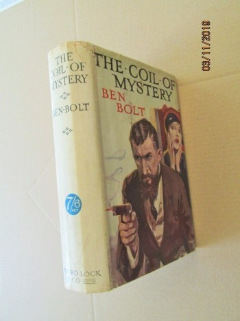 Image for The Coil of Mystery First Edition Hardback in Dustjacket
