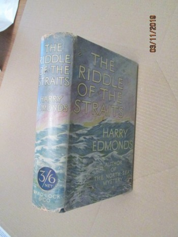 Image for The Riddle of the Straits first Edition Hardback in Dustjacket