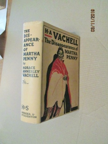Image for The Disappearance of Martha Penny first Edition Hardback in Dustjacket