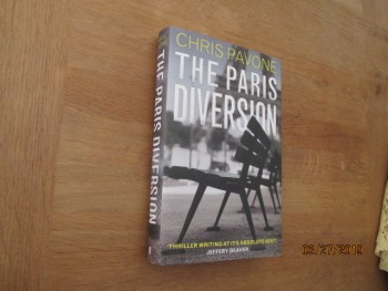 Image for The Paris Diversion Unread Fine First Printing