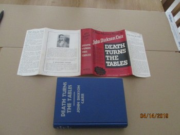 Image for Death Turns the Tables First Edition Hardback in Dustjacket