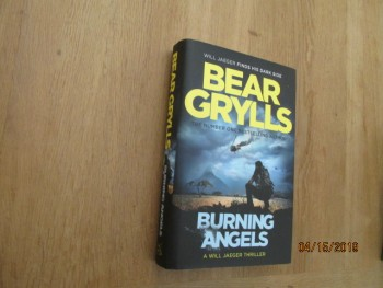 Image for Burning Angels First Edition Hardback in Dustjacket