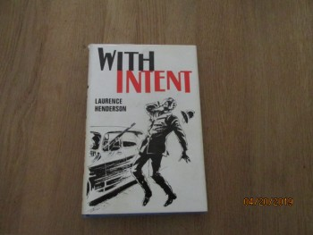 Image for With Intent First Edition Hardback in Dustjacket