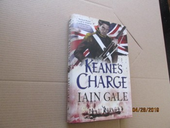 Image for Keane's Charge First Edition Hardback in Dustjacket