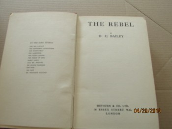 Image for The Rebel First Edition