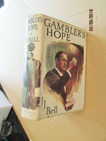 Image for Gambler's Hope First Edition Hardback in Original Dustjacket