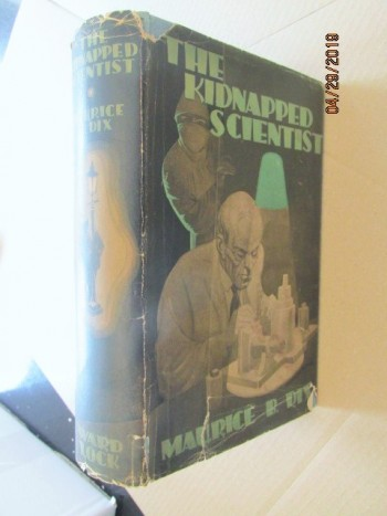Image for The Kidnapped Scientist First Edition Hardback in Original Dustjacket