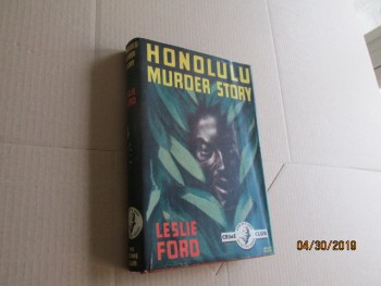Image for Honolulu Murder Story Edition Hardback in Original Dustjacket