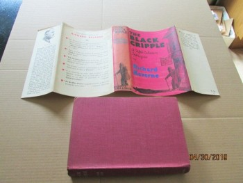 Image for The Black Cripple First Edition Hardback in Dustjacket
