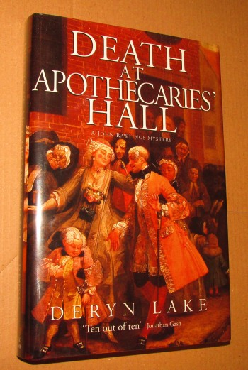 Image for Death at the Apothecaries Hall First Edition Hardback in Jacket
