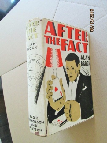 Image for After the Fact First Edition Hardback in Original Dustjacket
