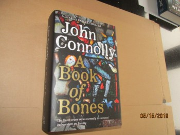 Image for A Book of Bones Unread First Edition Hardback in Dustjacket