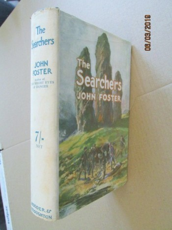 Image for The Searchers First Edition Hardback in Original Dustjacket