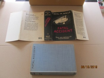 Image for Fatal Accident First Edition in Original Dustjacket