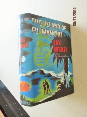 Image for The Island of Fu Manchu First Edition With Original Dustjacet