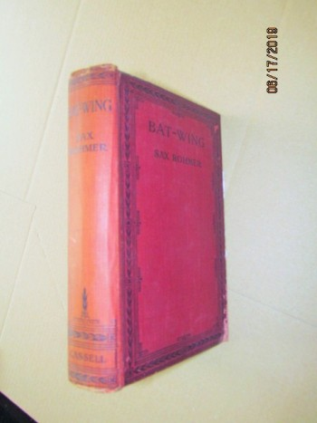 Image for Bat-Wing First Edition
