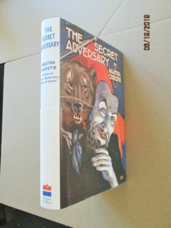 Image for The Secret Adversary First Printing of Facsimile Hardback in Dustjacket with Wrap-band