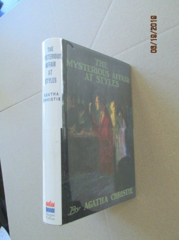Image for The Mysterious Affair at Styles First Printing of Facsimile Hardback in Dustjacket with Wrap-band
