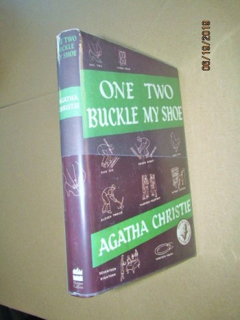 Image for One Two Buckle My Shoe First Printing of Facsimile Hardback in Dustjacket with Wrap-band