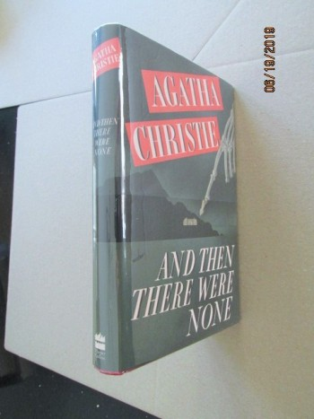 Image for And Then There Were None First Printing of Facsimile Hardback in Dustjacket with Wrap-band