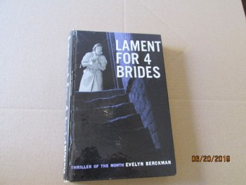 Image for Lament for 4 Brides First Edition