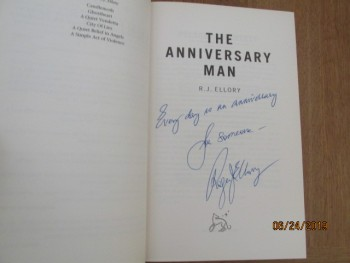 Image for The Anniversary Man Signed and quoted First Edition