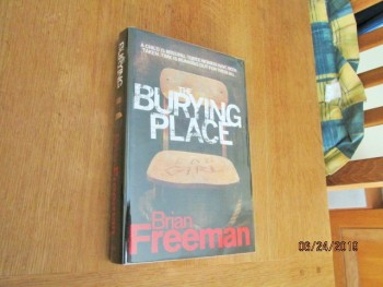 Image for The Burying Place First Edition Hardback in Dustjacket