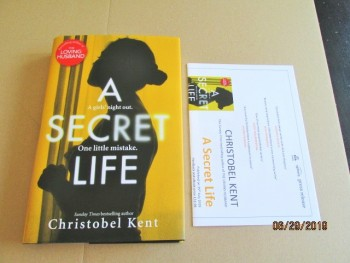 Image for A Secret Life Unread First Edition Hardback in Dustjacket  Plus Publicity Letter