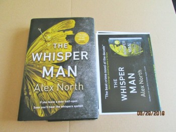Image for The Whisper Man Unread First Edition Plus Publicity Letter